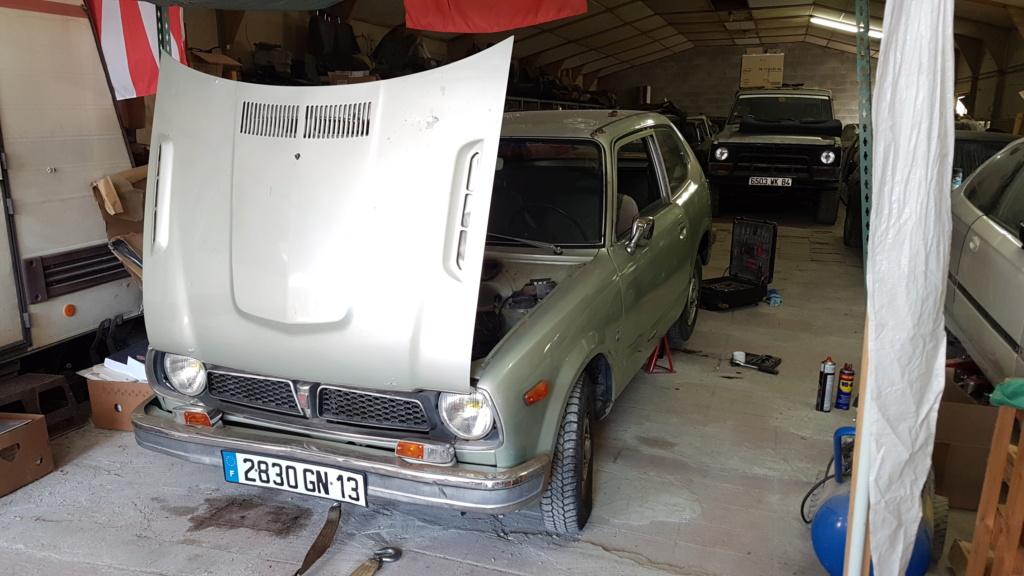 Enfin j'en ai une .. Honda CIVIC SB1 de 1977 1ère génération 20180231