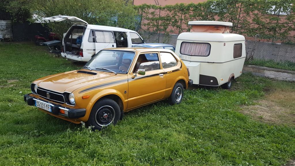 Enfin j'en ai une .. Honda CIVIC SB1 de 1977 1ère génération 20180236