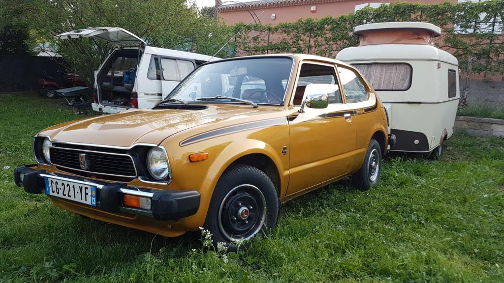 Enfin j'en ai une .. Honda CIVIC SB1 de 1977 1ère génération 20180242