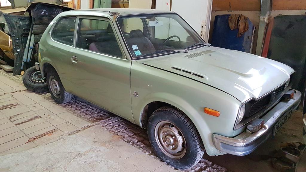 Enfin j'en ai une .. Honda CIVIC SB1 de 1977 1ère génération 20180310