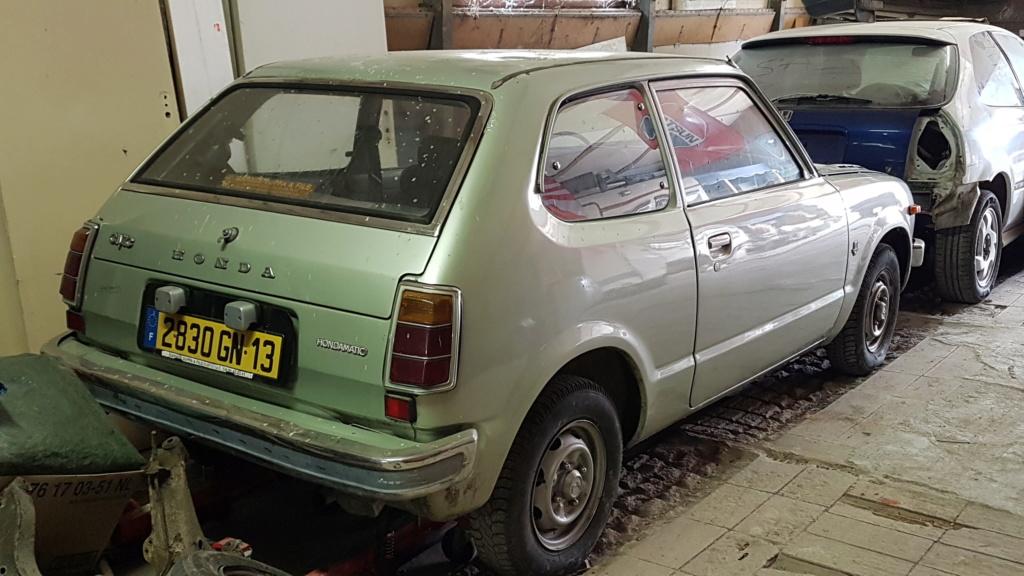 Enfin j'en ai une .. Honda CIVIC SB1 de 1977 1ère génération 20180311
