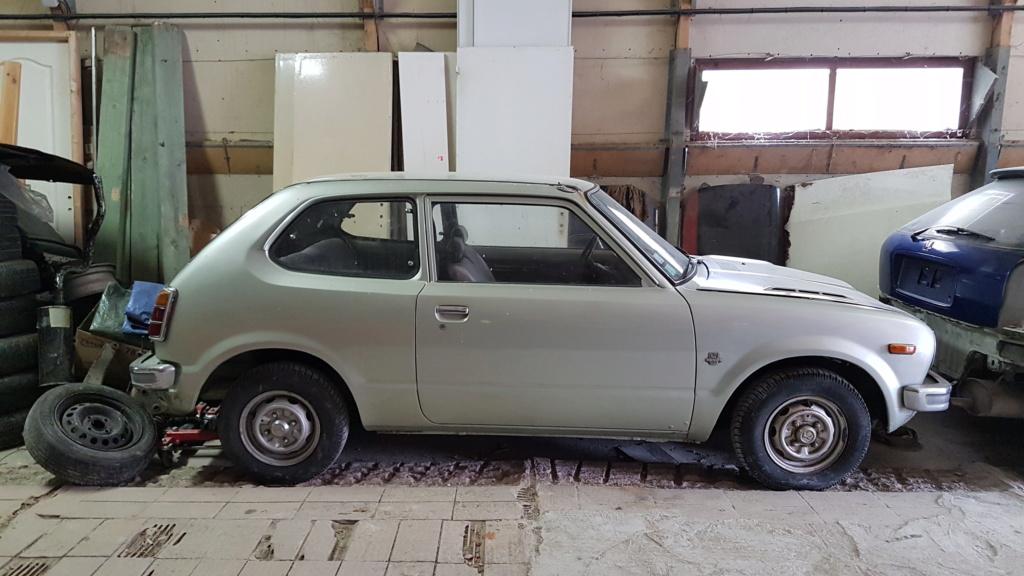 Enfin j'en ai une .. Honda CIVIC SB1 de 1977 1ère génération 20180312