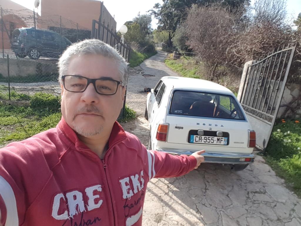 Enfin j'en ai une .. Honda CIVIC SB1 de 1977 1ère génération 20180349