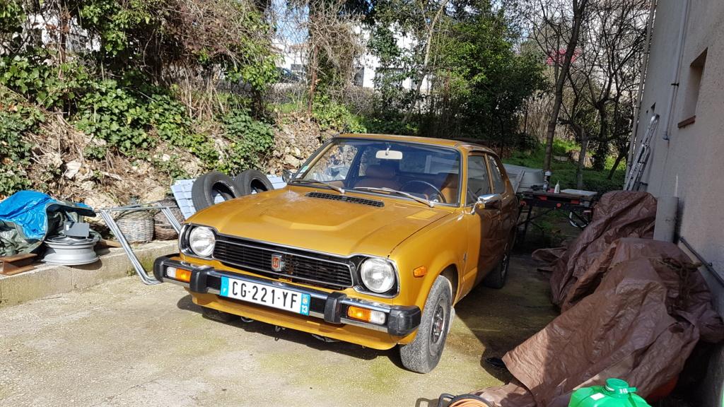 Enfin j'en ai une .. Honda CIVIC SB1 de 1977 1ère génération 20180353