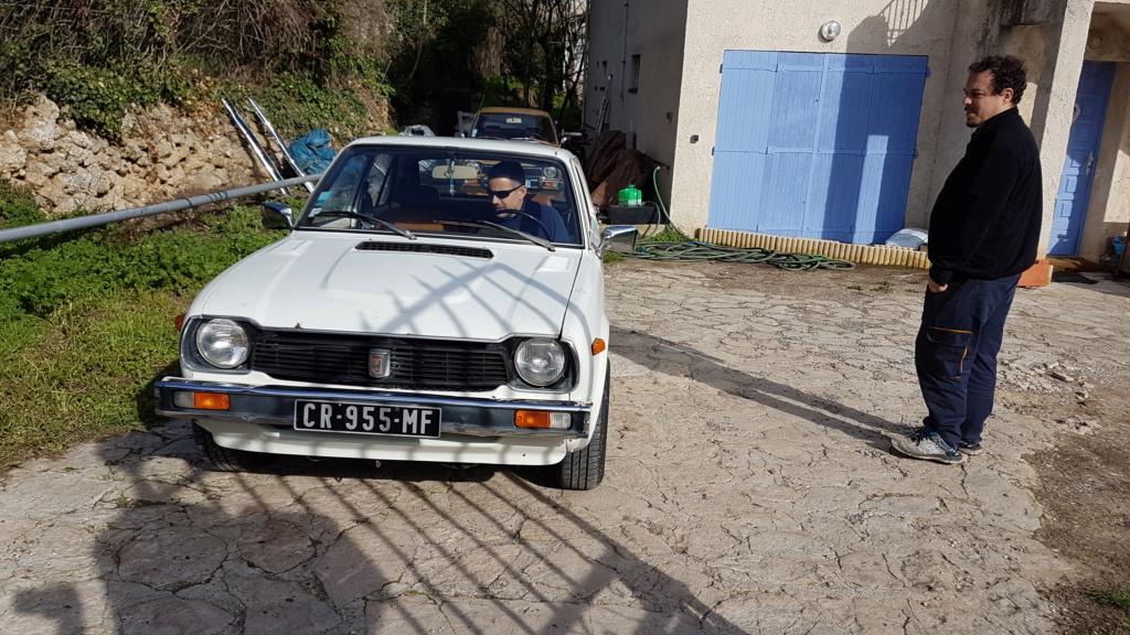 Enfin j'en ai une .. Honda CIVIC SB1 de 1977 1ère génération 20180354