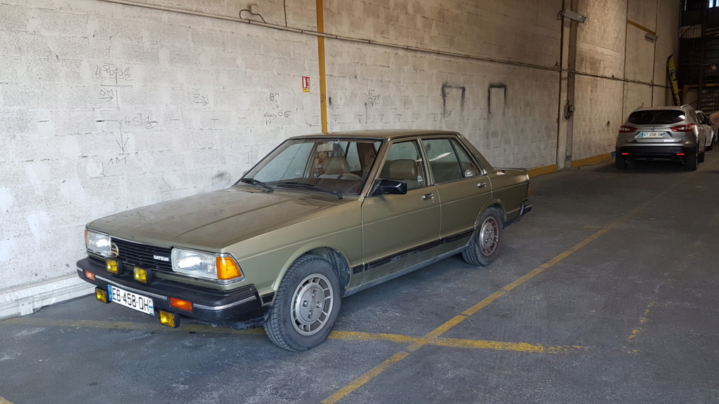 Datsun Bluebird 2.0l injection de  1983  20180613