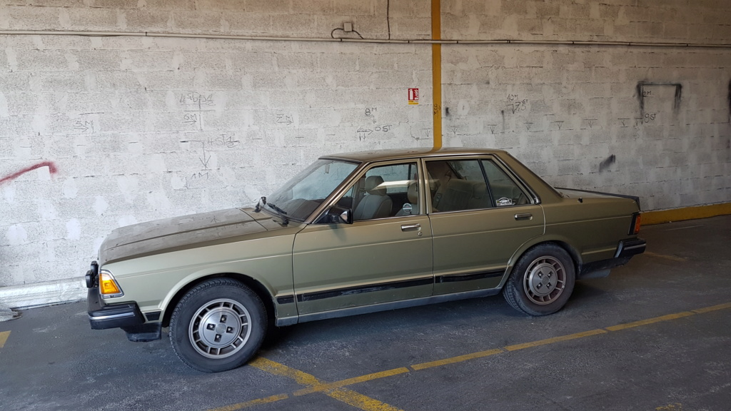 Datsun Bluebird 2.0l injection de  1983  20180615