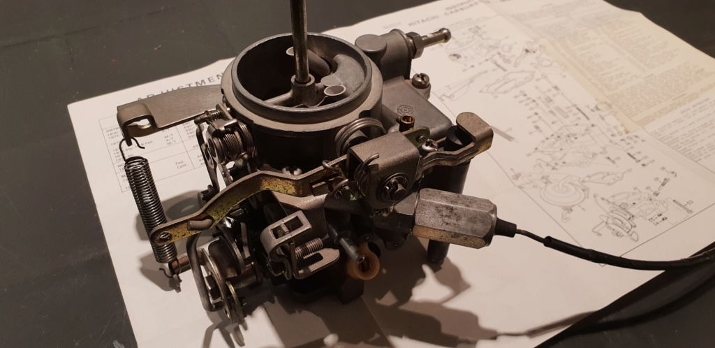Enfin j'en ai une .. Honda CIVIC SB1 de 1977 1ère génération 20181223