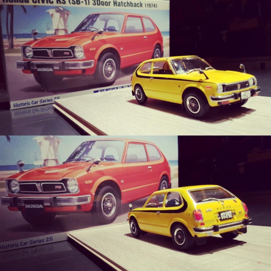 Enfin j'en ai une .. Honda CIVIC SB1 de 1977 1ère génération Img_2014