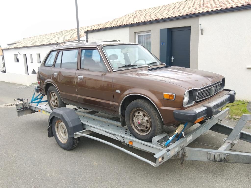 Enfin j'en ai une .. Honda CIVIC SB1 de 1977 1ère génération - Page 2 Img_2099