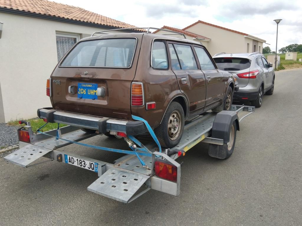 Enfin j'en ai une .. Honda CIVIC SB1 de 1977 1ère génération - Page 2 Img_2100