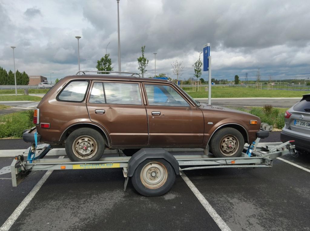 Enfin j'en ai une .. Honda CIVIC SB1 de 1977 1ère génération - Page 2 Img_2101