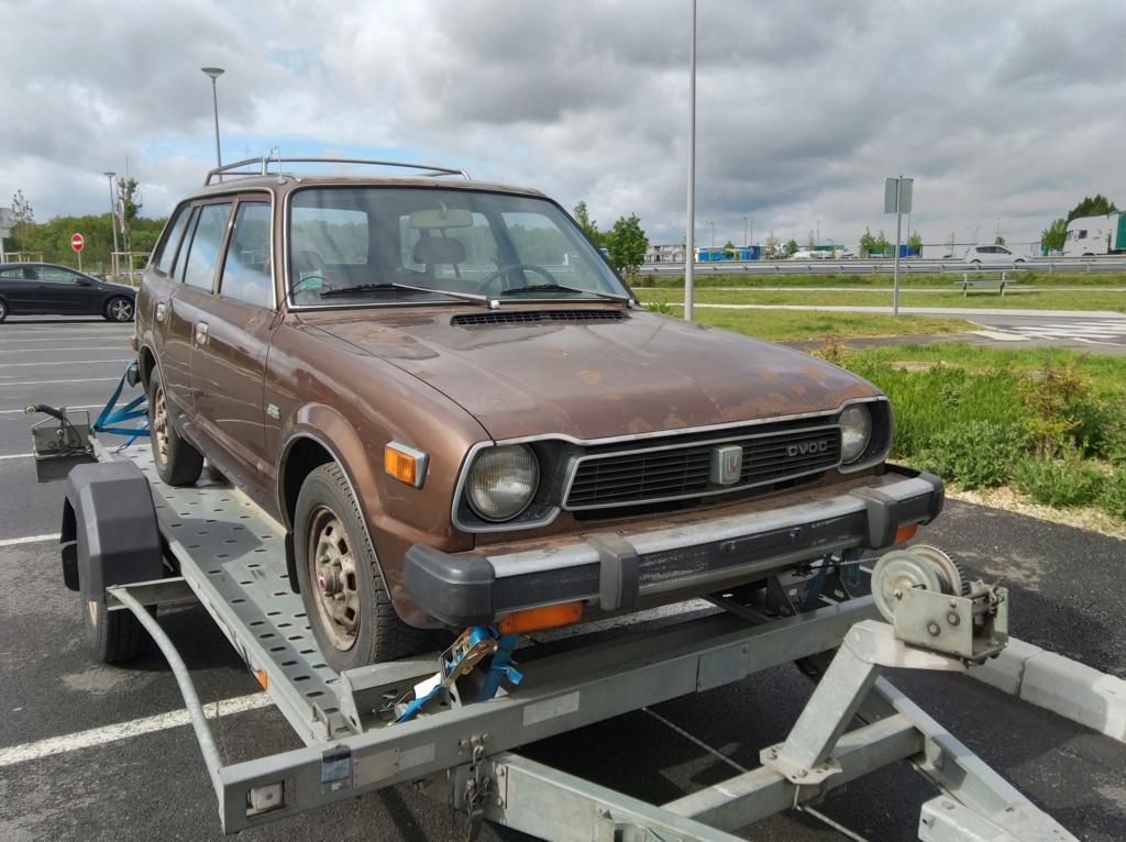 Enfin j'en ai une .. Honda CIVIC SB1 de 1977 1ère génération - Page 2 Img_2106