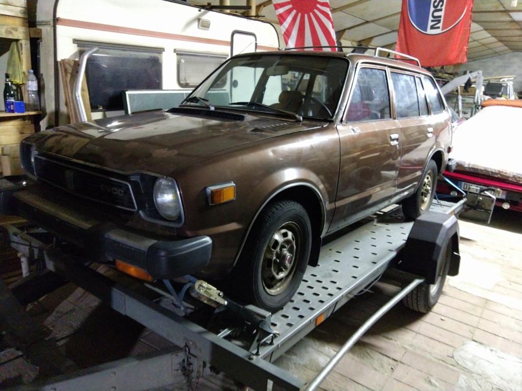 Enfin j'en ai une .. Honda CIVIC SB1 de 1977 1ère génération - Page 2 Img_2116