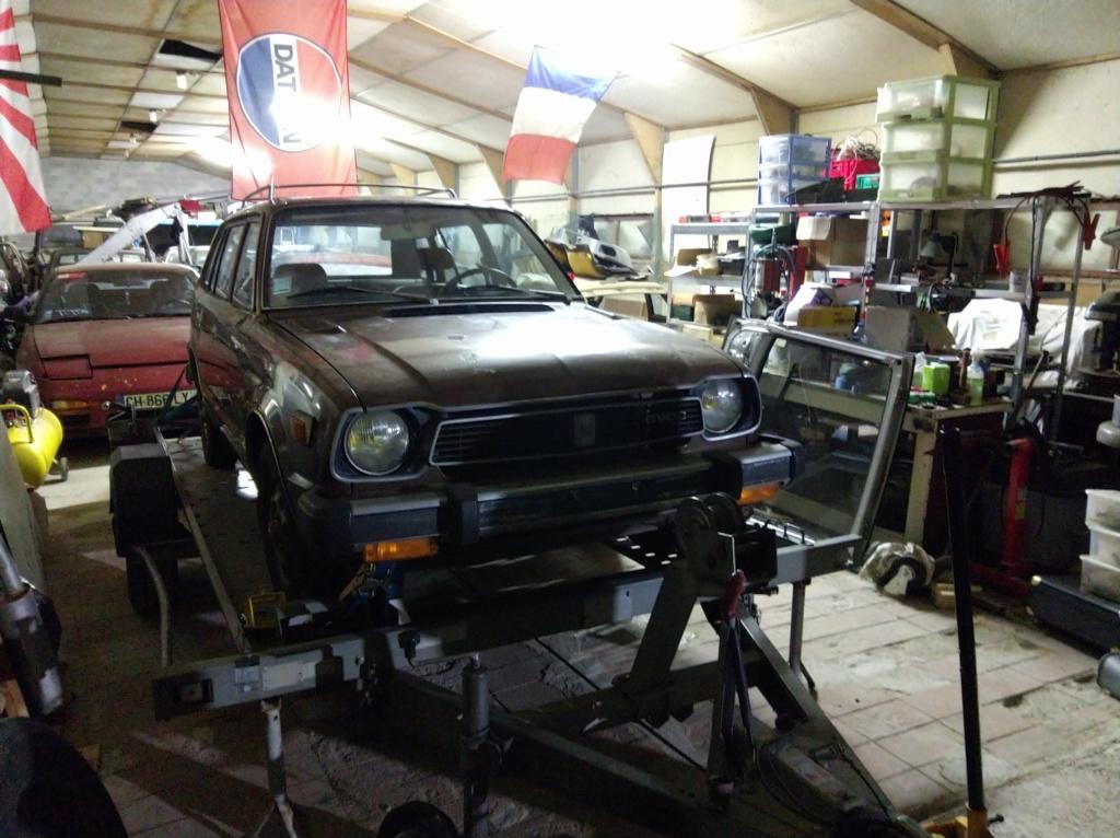 Enfin j'en ai une .. Honda CIVIC SB1 de 1977 1ère génération - Page 2 Img_2117