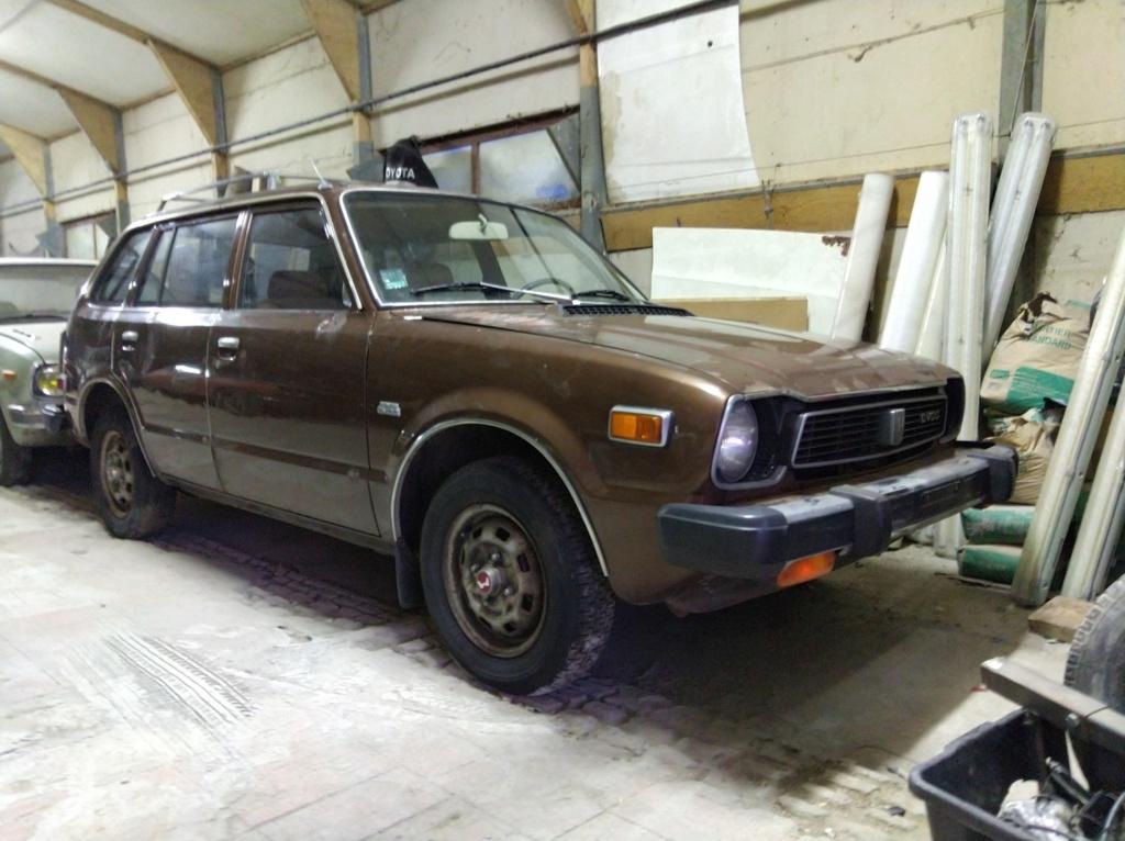 Enfin j'en ai une .. Honda CIVIC SB1 de 1977 1ère génération - Page 3 Img_2122