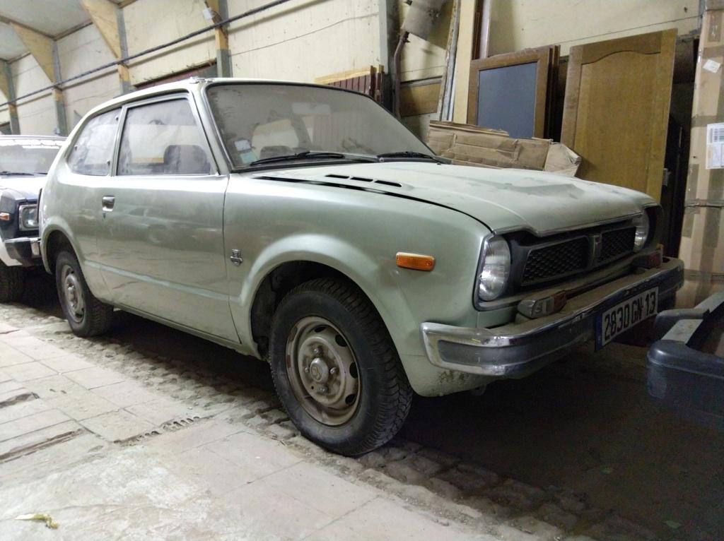 Enfin j'en ai une .. Honda CIVIC SB1 de 1977 1ère génération - Page 3 Img_2123