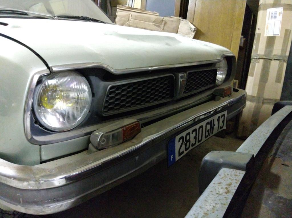 Enfin j'en ai une .. Honda CIVIC SB1 de 1977 1ère génération - Page 3 Img_2124