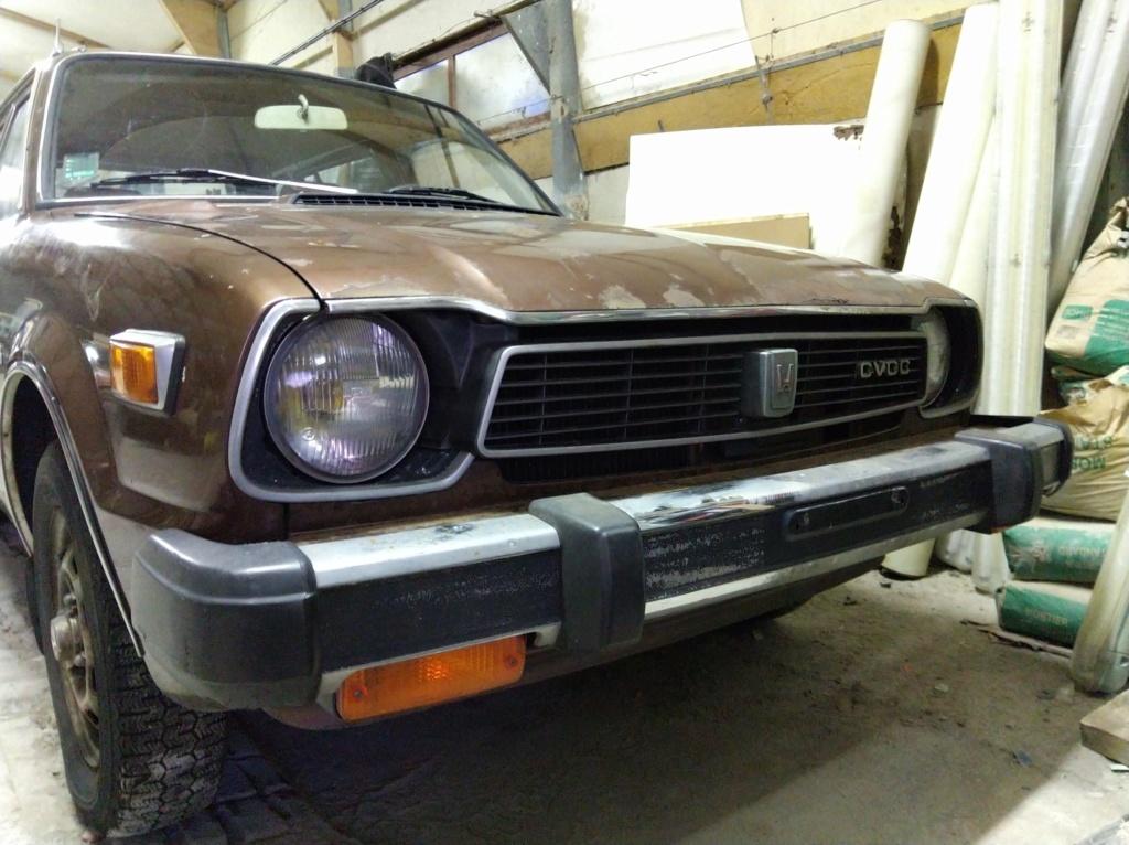 Enfin j'en ai une .. Honda CIVIC SB1 de 1977 1ère génération - Page 3 Img_2125