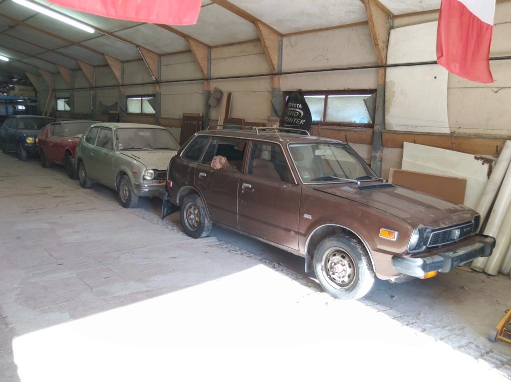 Enfin j'en ai une .. Honda CIVIC SB1 de 1977 1ère génération - Page 3 Img_2131