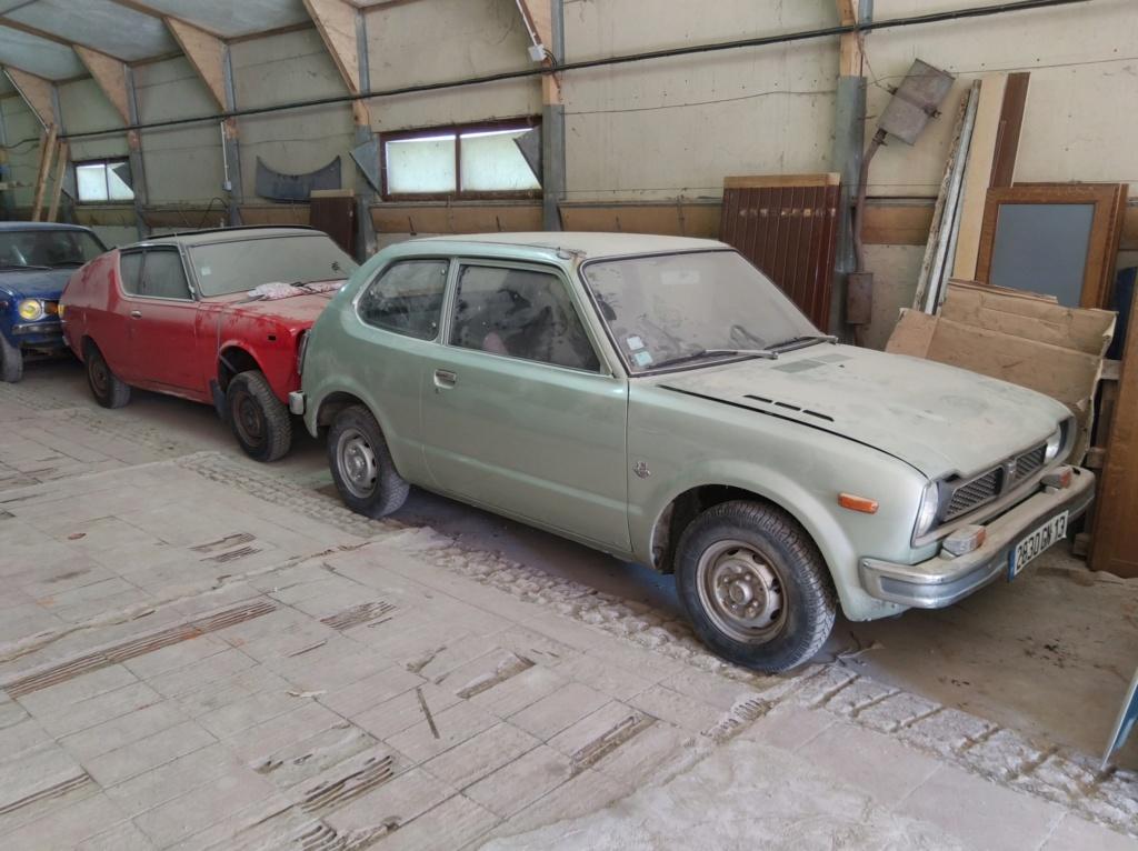 Enfin j'en ai une .. Honda CIVIC SB1 de 1977 1ère génération - Page 3 Img_2132