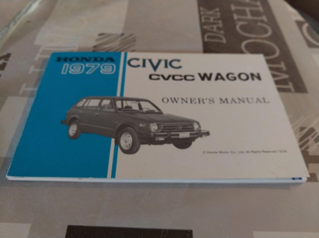 Enfin j'en ai une .. Honda CIVIC SB1 de 1977 1ère génération - Page 3 Img_2182