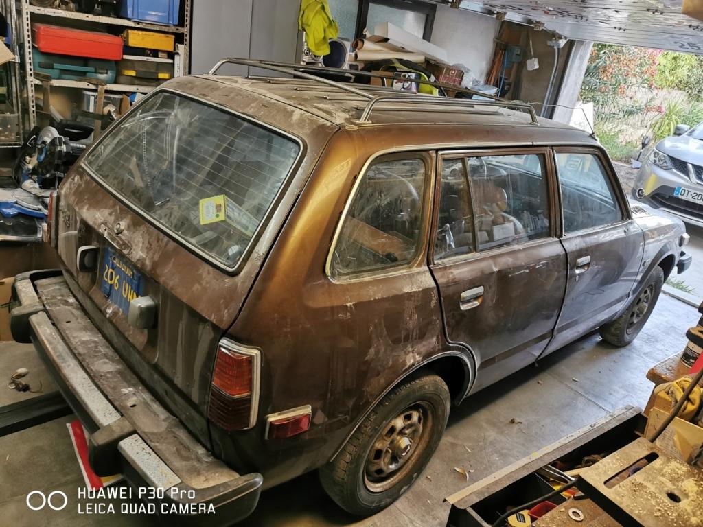 Enfin j'en ai une .. Honda CIVIC SB1 de 1977 1ère génération - Page 3 Img_2195