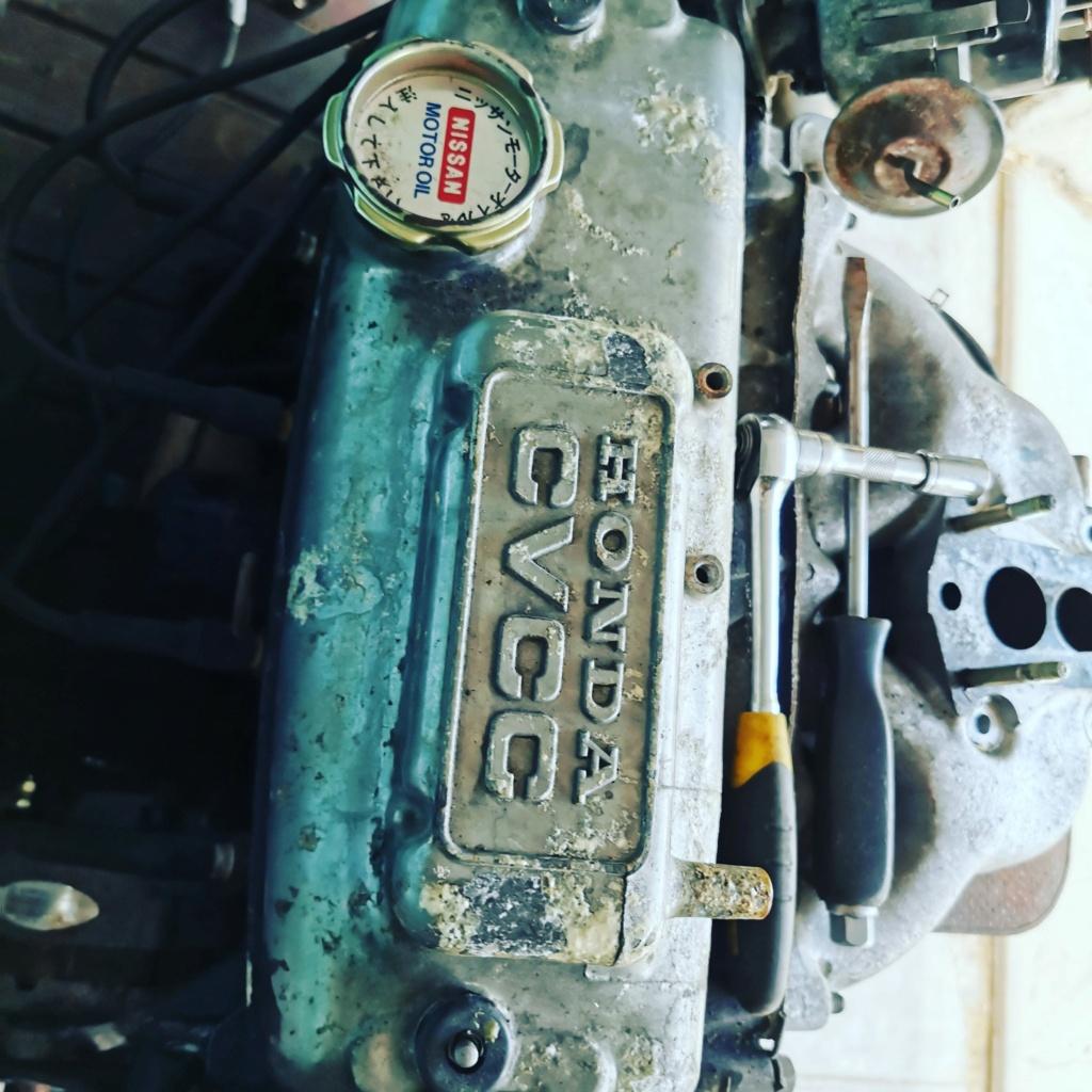 Enfin j'en ai une .. Honda CIVIC SB1 de 1977 1ère génération - Page 3 Img_2216