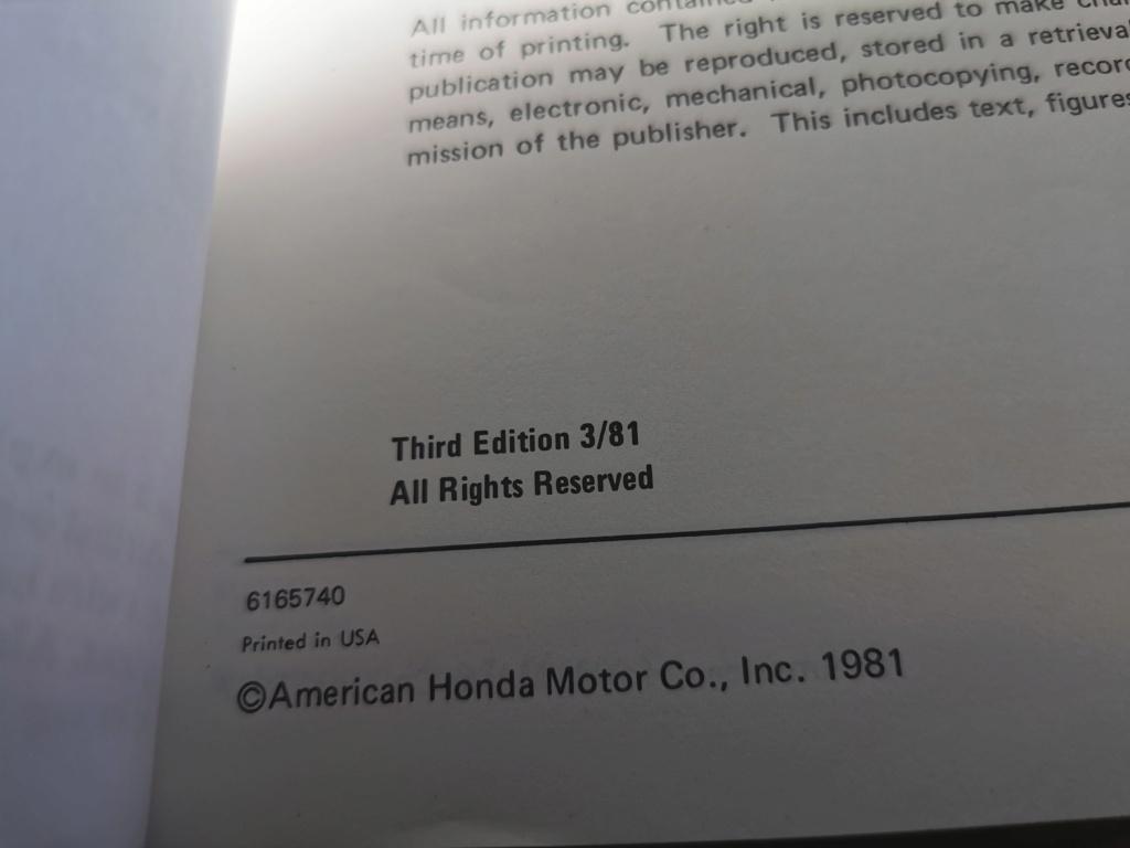 Enfin j'en ai une .. Honda CIVIC SB1 de 1977 1ère génération - Page 3 Img_2250