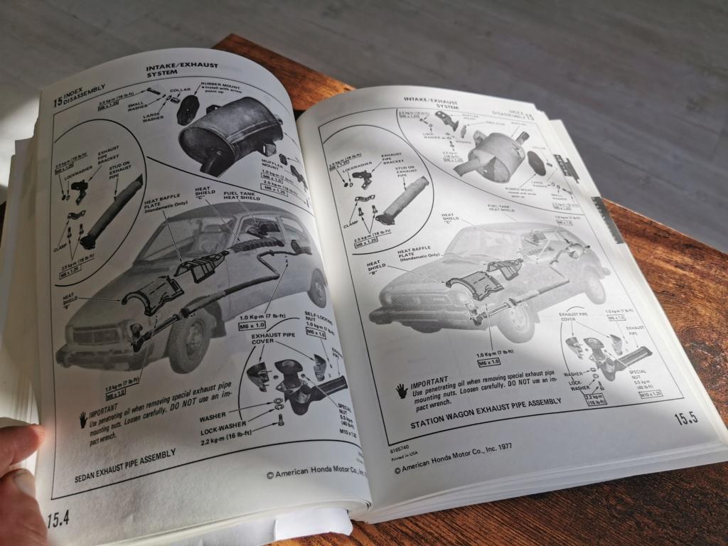 Enfin j'en ai une .. Honda CIVIC SB1 de 1977 1ère génération - Page 3 Img_2251