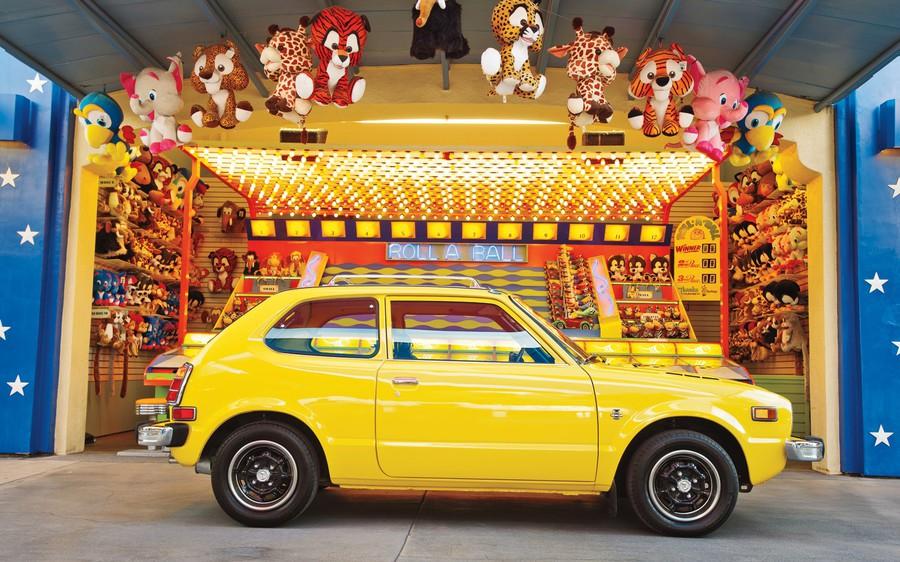 Enfin j'en ai une .. Honda CIVIC SB1 de 1977 1ère génération Teaser12
