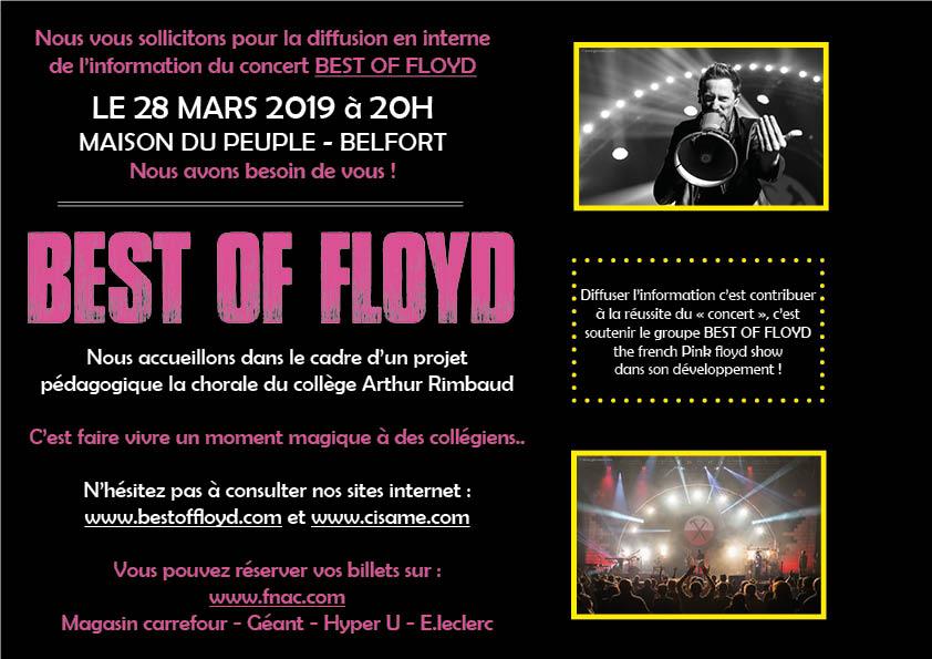 Best Of Floyd (Tribute) Tournée 2019 Comcho10
