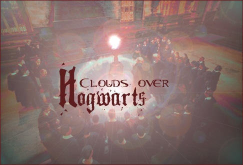 Clouds over Hogwarts Banner10