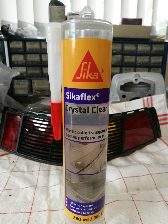 Remplacement vitres de feux AR 964.  1518