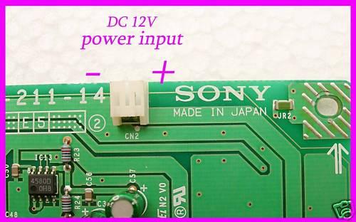 Scheda Dac Targata Sony con pcm1728 Dac_1211