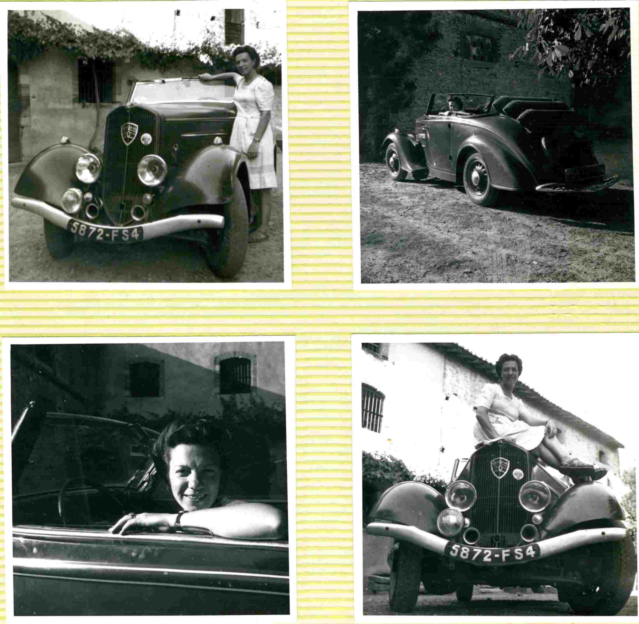 Présentation : Joseph , avec une 201 M Cabriolet 1936 Maman_10