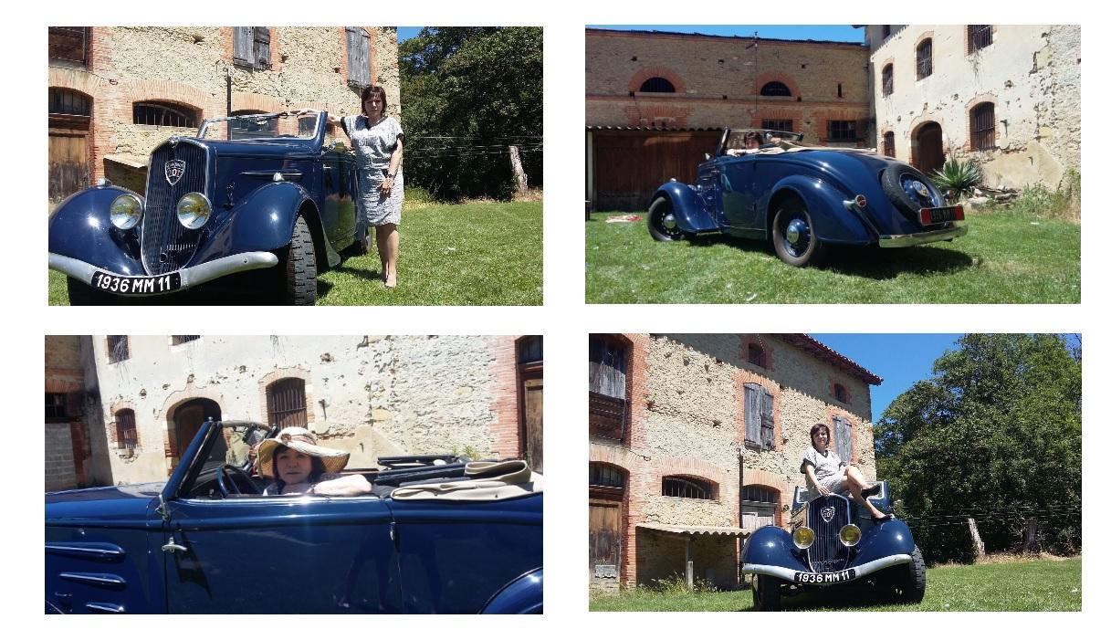 Présentation : Joseph , avec une 201 M Cabriolet 1936 Photos10