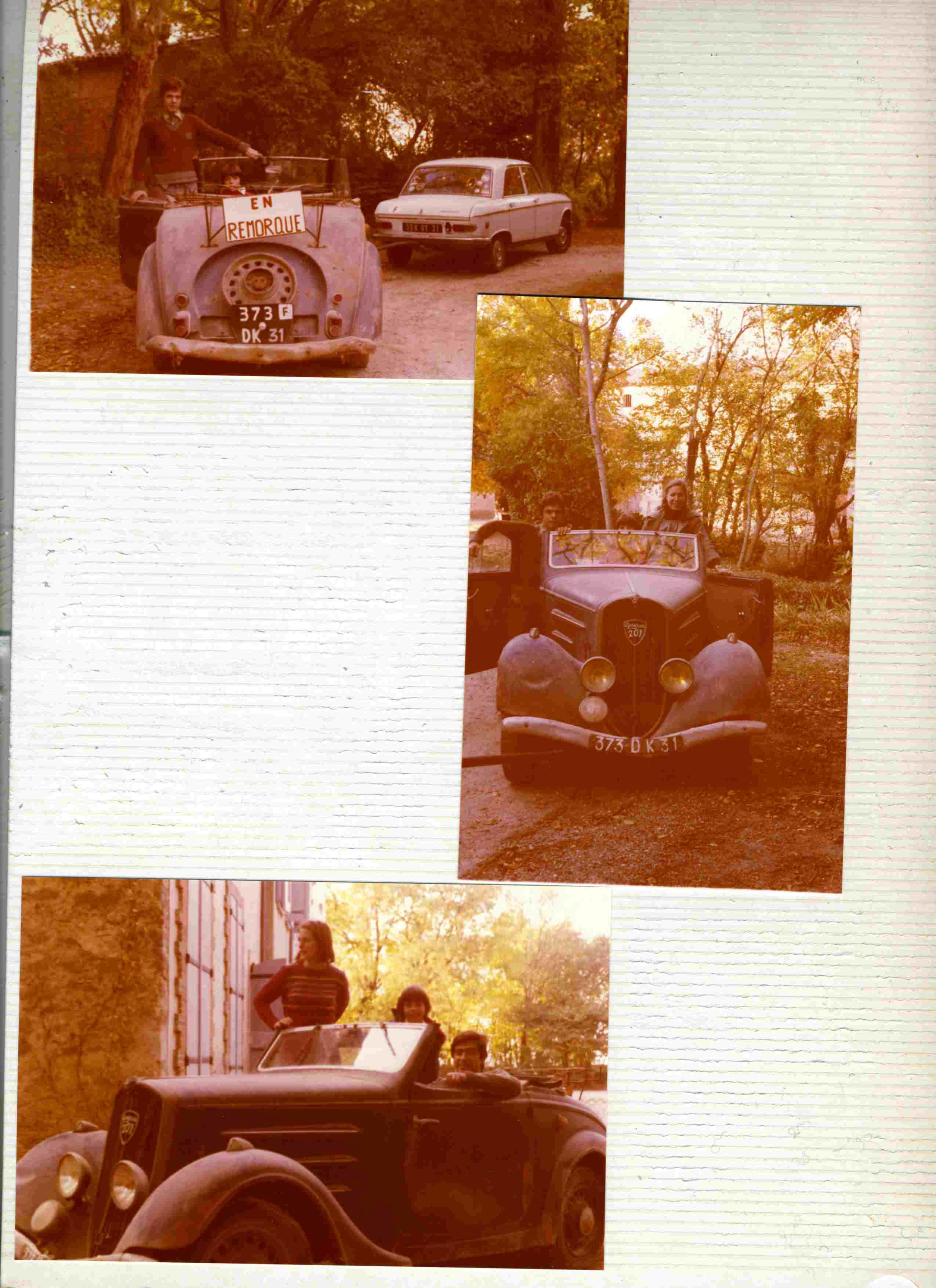 Présentation : Joseph , avec une 201 M Cabriolet 1936 Remorq10