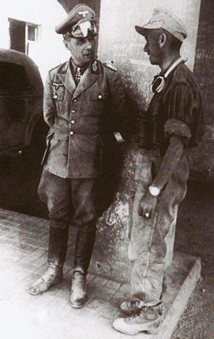 Les vehicules de Commandement de Rommel - Page 2 -romme10