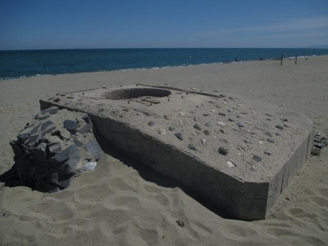 Le bunkers de Torreilles inscrit aux monuments historiques 0014