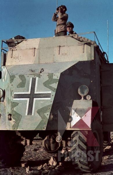 Les vehicules de Commandement de Rommel 0017