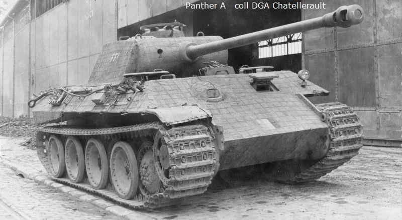Vehicules recuperes par les FFI -1944 0030