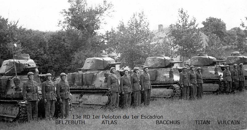 Vehicules recuperes par les FFI -1944 00311