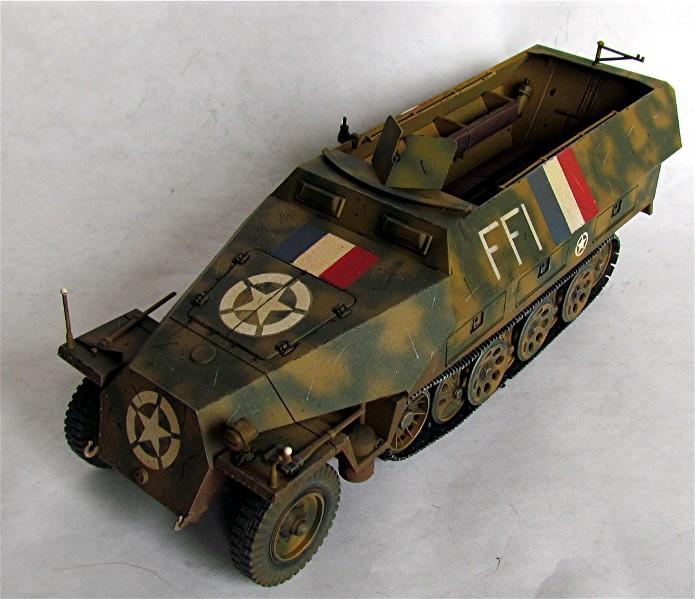 Vehicules recuperes par les FFI -1944 011