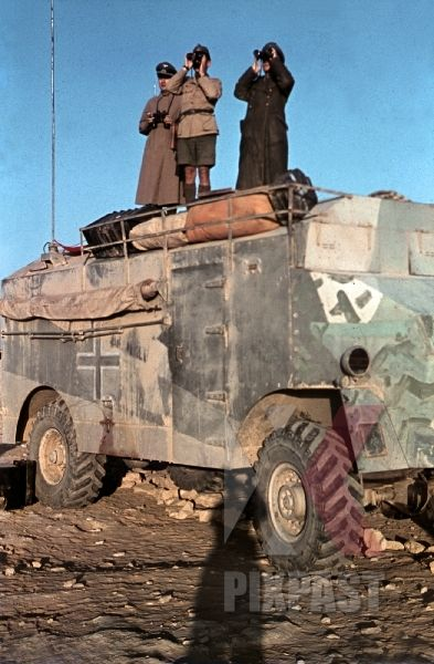 Les vehicules de Commandement de Rommel 0116