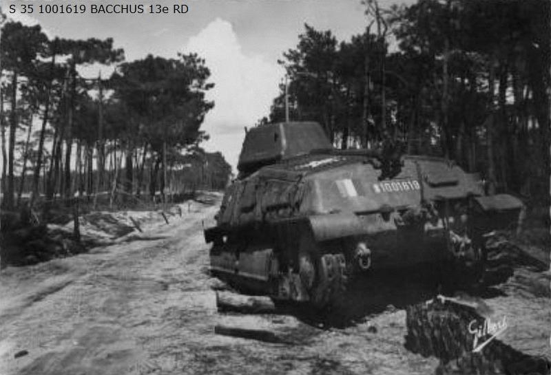 Vehicules recuperes par les FFI -1944 0124