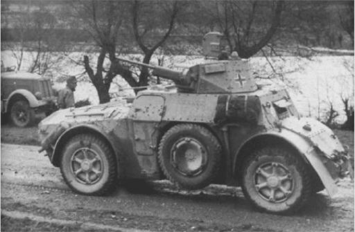 Vehicules recuperes par les FFI -1944 014