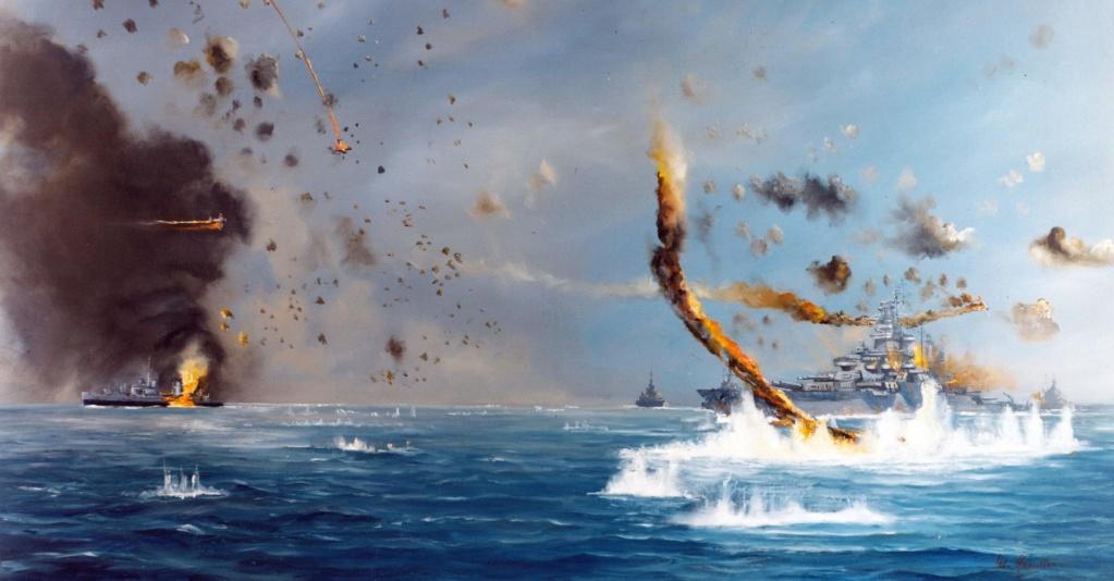Navires US endommages par des kamikazes 01434510