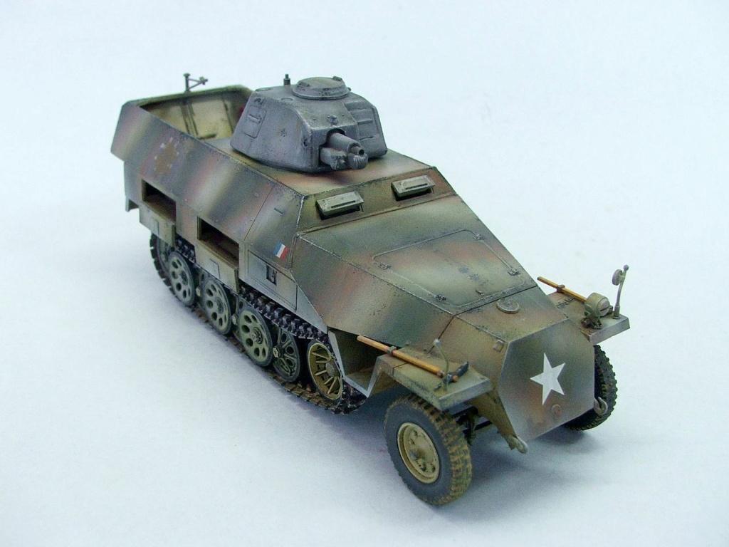Vehicules recuperes par les FFI -1944 0314