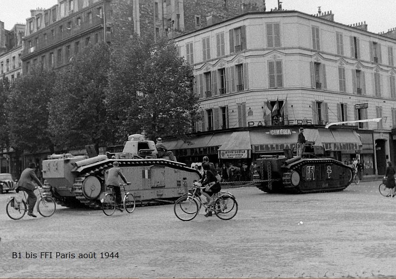 Vehicules recuperes par les FFI -1944 081